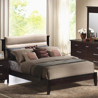 Coaster Furniture 201291KW - Kendra California King Size Bed (Mahogany)