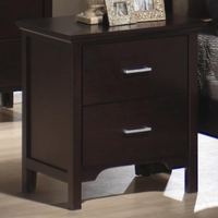 Coaster Furniture 201292 - Kendra Night Stand (Mahogany)