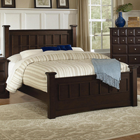 Coaster Furniture 201381KW - Harbor California King Size Bed (Cappuccino)