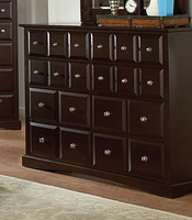 Coaster Furniture 201383 - Harbor Dresser (Cappuccino)