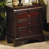 Coaster Furniture 201482 - Versailles Night Stand (Deep Mahogany)