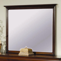 Coaster Furniture 201484 - Versailles Mirror (Deep Mahogany)