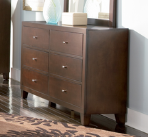 Coaster Furniture 201513 - Lorretta Dresser (Deep Brown)