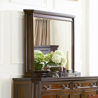 Coaster Furniture 201584 - Foxhill Mirror (Deep Brown)