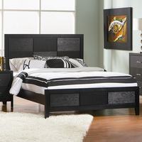 Coaster Furniture 201651KW - Grove California King Size Bed (Black)
