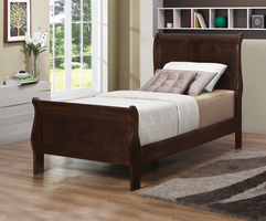 Coaster Furniture - 202411T - TWIN SIZE BED (CAPPUCCINO)