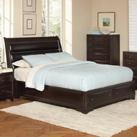 Coaster Furniture 202491KW - Webster California King Size Skeigh Bed (Brown Maple)