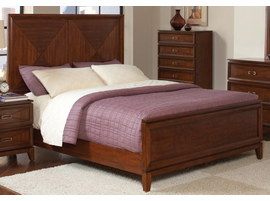 Coaster Furniture 202691Q - Katharine Queen Bed (Cherry)