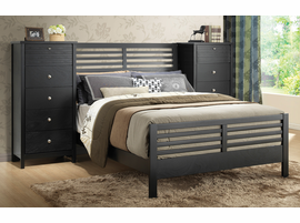 Coaster Furniture - 202721QN - QUEEN BED (BLACK)