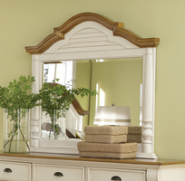 Coaster Furniture - 202884 - MIRROR (BUTTERMILK/BROWN)