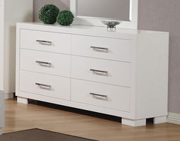 Coaster Furniture - 202993 - DRESSER (WHITE)