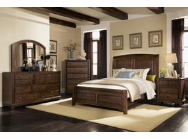Coaster Furniture - 203260Q - QUEEN BED (RUSTIC BROWN)