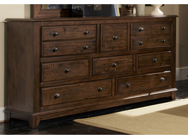 Coaster Furniture - 203263 - DRESSER (RUSTIC BROWN)