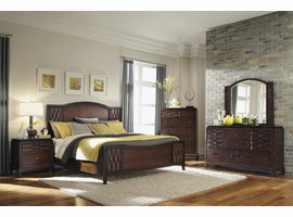 Coaster Furniture - 203301Q - QUEEN BED (RICH BROWN)