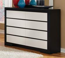 Coaster Furniture - 203333 - DRESSER (BLACK/WHITE)