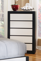 Coaster Furniture - 203335 - CHEST (BLACK/WHITE)
