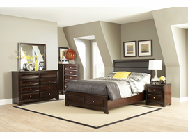 Coaster Furniture - 203481Q - QUEEN BED (CAPPUCCINO)
