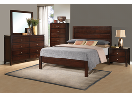 Coaster Furniture - 203491Q - QUEEN BED (RICH BROWN)