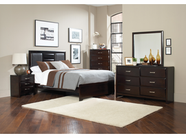 Coaster Furniture - 203551Q - QUEEN BED (CAPPUCCINO)