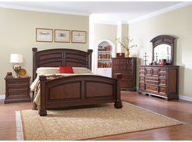 Coaster Furniture - 203591Q - QUEEN BED (BURNISHED COGNAC)