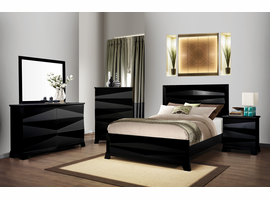 Coaster Furniture - 203671Q - QUEEN BED (BLACK)