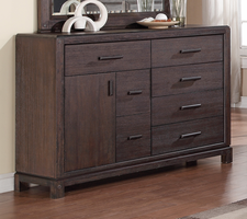 Coaster Furniture - 203683 - DRESSER (WIRE BRUSHED BARK)