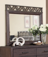Coaster Furniture - 203684 - MIRROR (WIRE BRUSHED BARK)