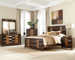 Coaster Furniture - 203865 - CHEST (BROWN OAK/DARK FOREST)