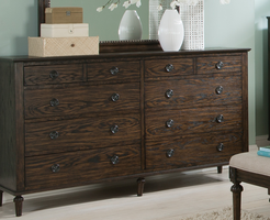 Coaster Furniture - 203933 - DRESSER (WIRED BRUSH DARK OAK)