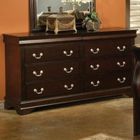 Coaster Furniture 203983N - Louis Philippe Dresser (Cappuccino)