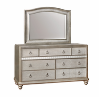 Coaster Furniture - 204184 - MIRROR (METALLIC PLATINUM)