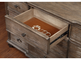 Coaster Furniture - 204243 - DRESSER (WIRE BRUSHED MUSHROOM)