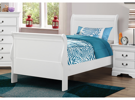 Coaster Furniture - 204691T - TWIN SIZE BED (WHITE)