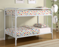 Coaster Furniture 2256W - Twin/Twin Bunk Bed (White)
