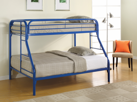 Coaster Furniture 2258B - Twin/Full Bunk Bed (Blue)