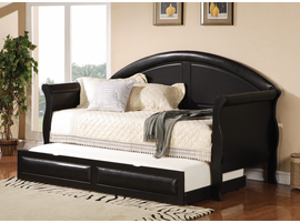 Coaster Furniture 300114 - Coaster Daybed (Rich Black)