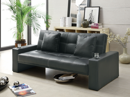 Coaster Furniture - 300125 - SOFA BED (BLACK)