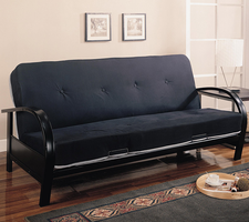 Coaster Furniture 300159 - Futon Frame (Black)