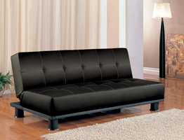 Coaster Furniture 300163 - Sofa Bed (Black)