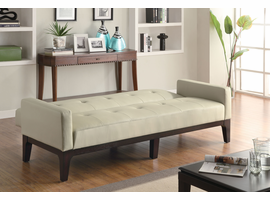 Coaster Furniture 300226 - Sofa Bed (Cream)