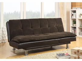 Coaster Furniture - 300313 - SOFA BED (DARK BROWN/BROWN)