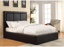 Coaster Furniture - 300493Q - QUEEN BED (BLACK)
