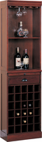 Coaster Furniture 3080-1 - Wall Unit (Cherry)