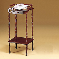 Coaster Furniture 3309 - Telephone Stand (Cherry)