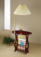 Coaster Furniture 3337 - Magazine Table (Cherry)