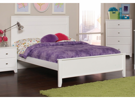 Coaster Furniture - 400761F - FULL SIZE BED (WHITE)