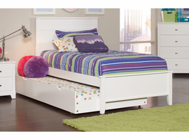 Coaster Furniture - 400761T - TWIN SIZE BED (WHITE)