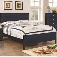 Coaster Furniture - 400781F - FULL SIZE BED (NAVY BLUE)