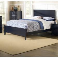 Coaster Furniture - 400781T - TWIN SIZE BED (NAVY BLUE)