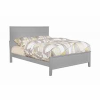 Coaster Furniture - 400801T - TWIN SIZE BED (GREY)